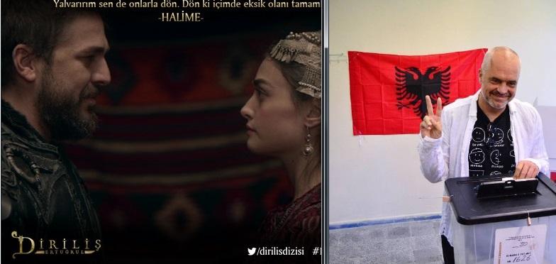 Ertugrul fiton garën e zgjedhjeve  Grafiku i audiencës