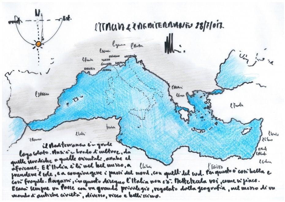 Skica e Renzo Piano  Vizatojeni Italinë si t ju pëlqejë