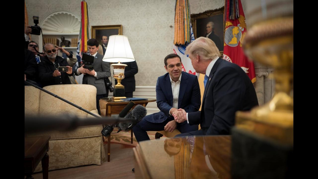 Takim 2 orësh i Trump me Cipras