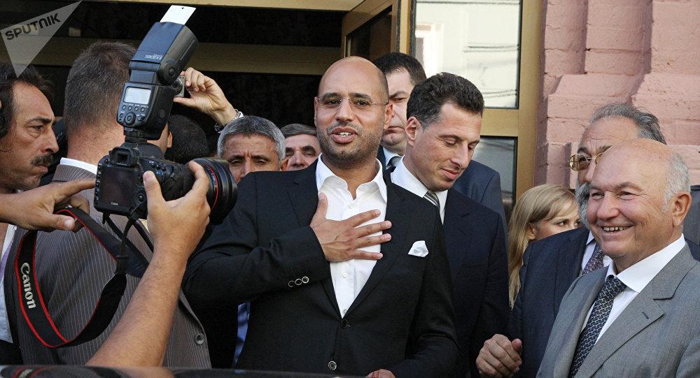 Djali i Gaddafi t kthehet në politikë