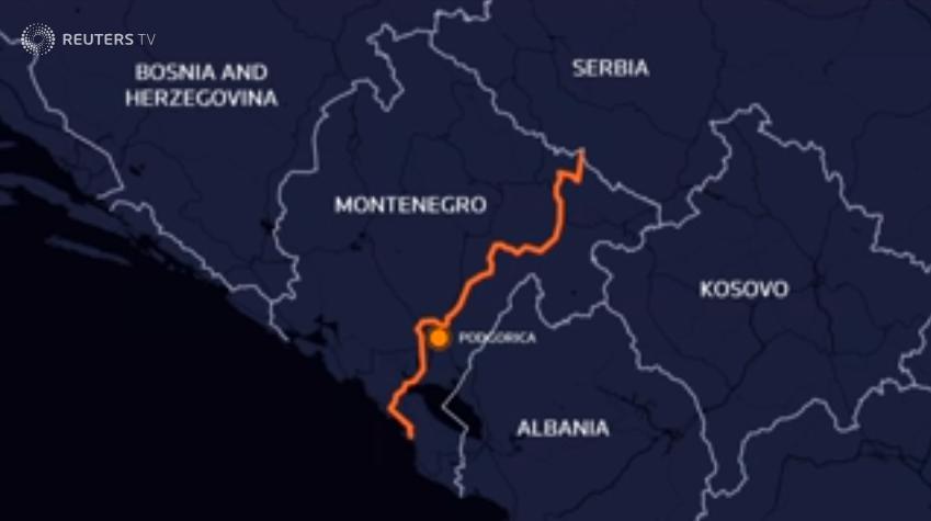 Marrëzia e super rrugëve prek edhe Malin e Zi  Kina financuese kryesore e aksit Tivar Serbi