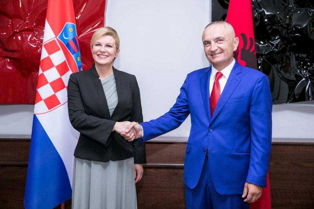 Një vizitë me axhendë kryesore plehërat e linjës Shqipëri Kroaci
