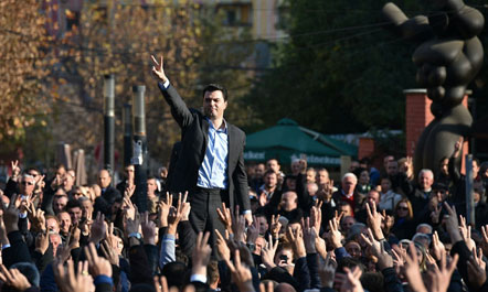 Opozita drejt popullit  apo populli drejt opozitës