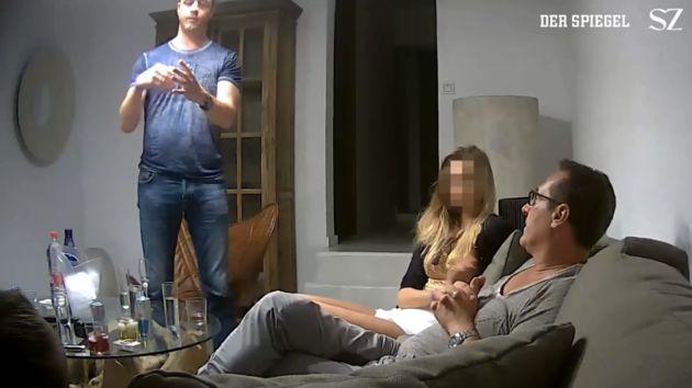 Një video që shënon fundin e karrierës për zv kancelarin austriak