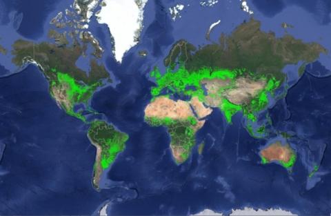 Raporti/Sipërfaqja e tokës së punueshme është 1.87 miliardë ha. 15-20% më e madhe nga sa mendohej   Respublica